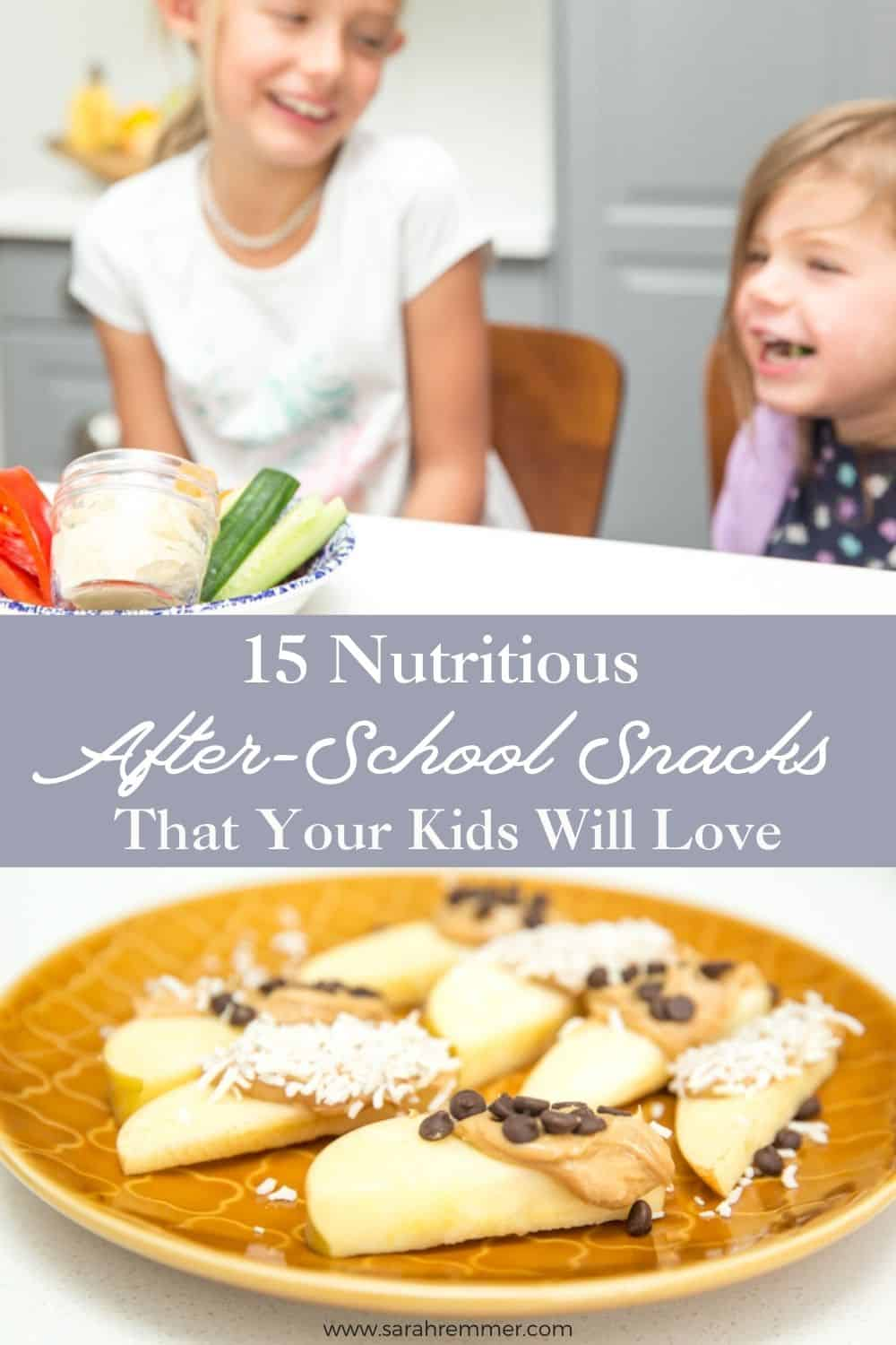 There's no hunger quite like after-school hunger! That's why you need this list of 15 easy, healthy and kid-approved after-school snacks! You can thank me later.
