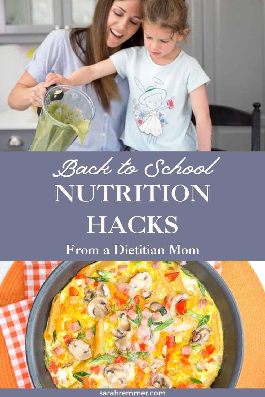 راهنمای متخصص تغذیه بازگشت به راهنمای مدرسه ، تغذیه کودکان شما را آسان تر می کند (و حتی بهتر!).  در اینجا هک های صرفه جویی در وقت وجود دارد!