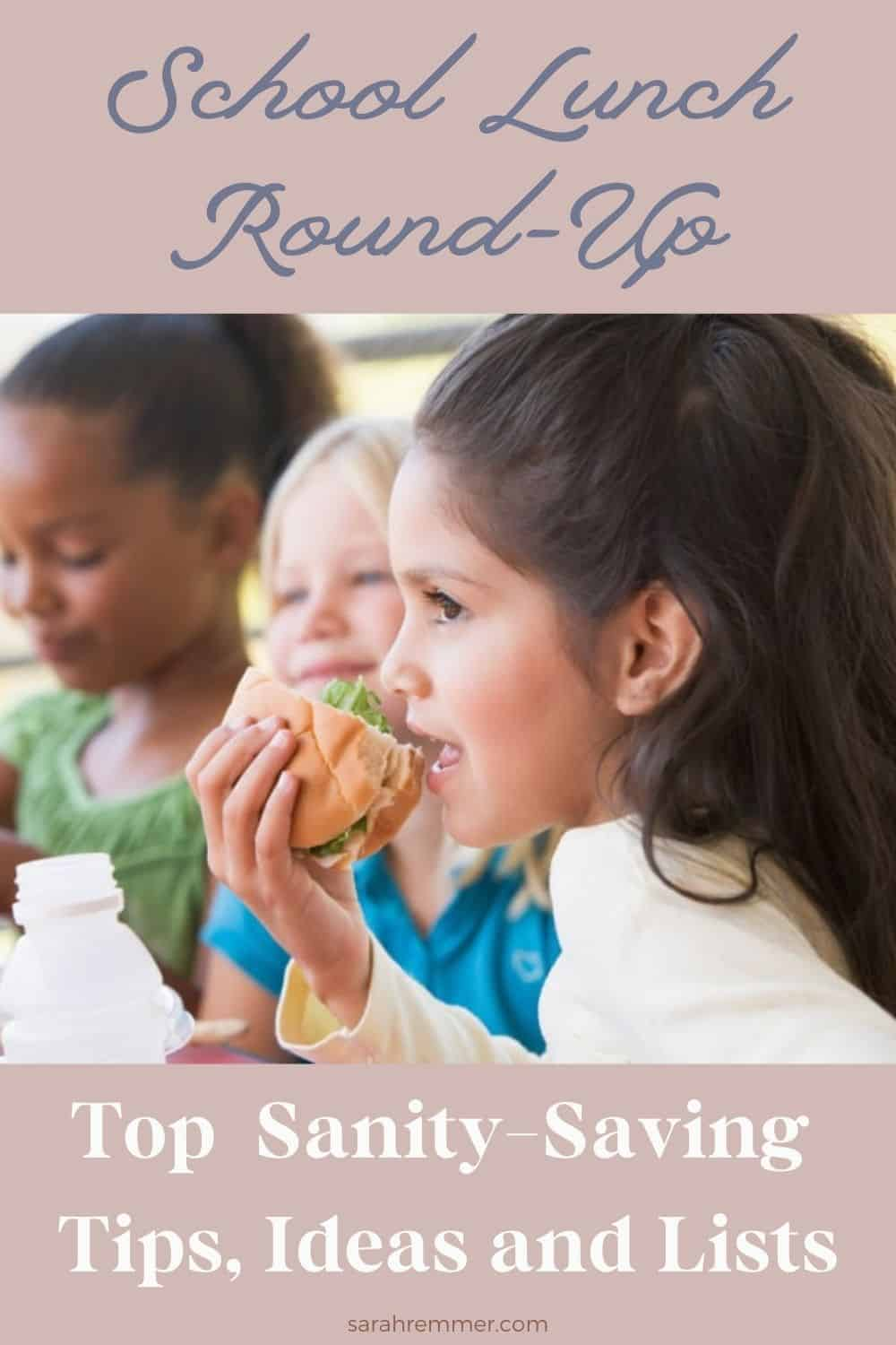 Back-to-school time is exciting and nerve-wracking all at the same time--especially for those of us who are rookies! As a dietitian and mom of three, here are my top sanity-saving tips for making school lunches a breeze!