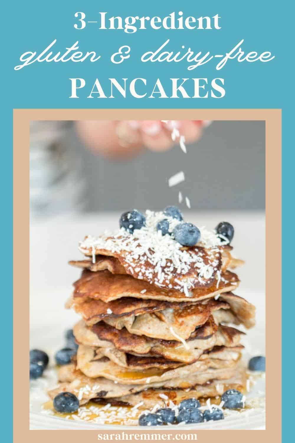 These flourless 3-ingredient banana pancakes are nutrient-rich, delicious and easy – a dietitian mom's dream!